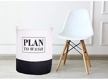 Load image into Gallery viewer, Cotton Linen Foldable Laundry Hampers