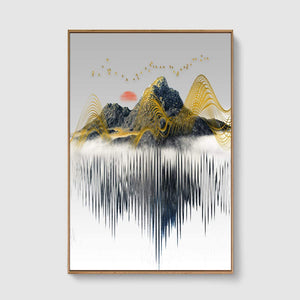 Nordic Style Abstract Canvas Wall Art