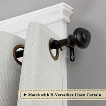 Load image into Gallery viewer, Adjustable Curtain Rod 48 to 84-Inch