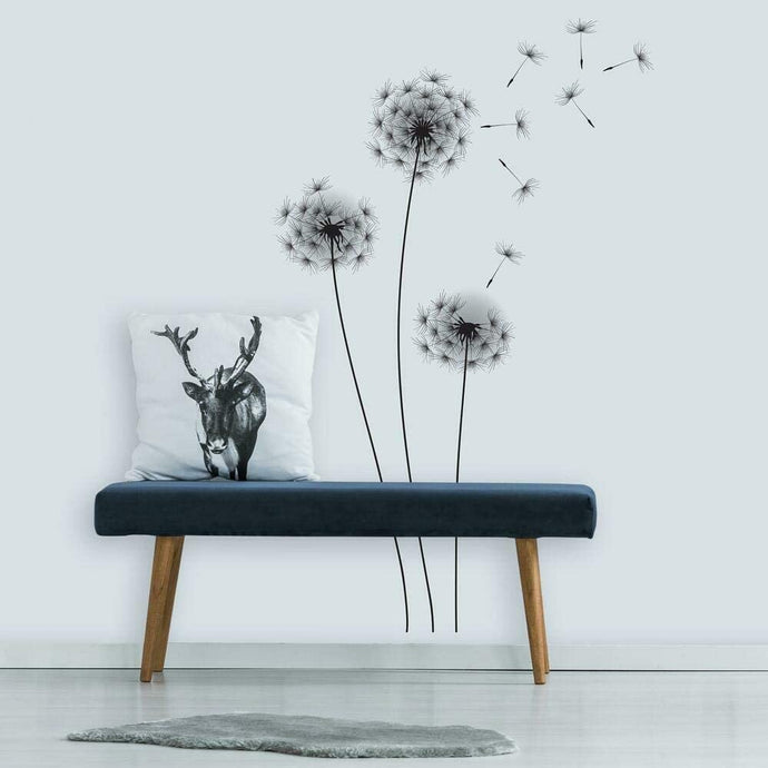 Whimsical Dandelion Giant Wall Decals