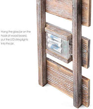 Load image into Gallery viewer, Rustic Brown Mason Jar Sconces
