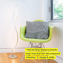 Load image into Gallery viewer, Modern LED Spiral Floor Lamp
