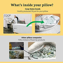 Load image into Gallery viewer, Adjustable Shredded Memory Foam Pillow