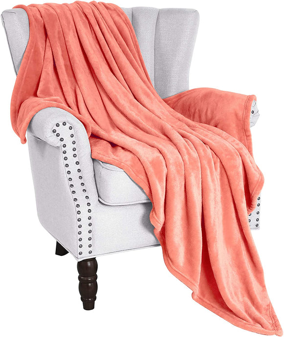 Fluffy Velvet Plush Throw Blanket