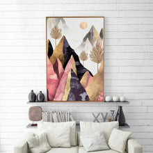 Load image into Gallery viewer, Nordic Style Abstract Canvas Wall Art