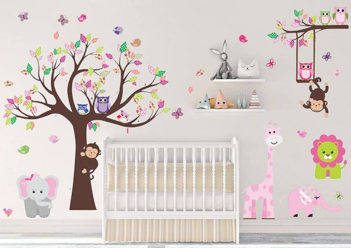 Jungle Theme Peel & Stick Wall Decal
