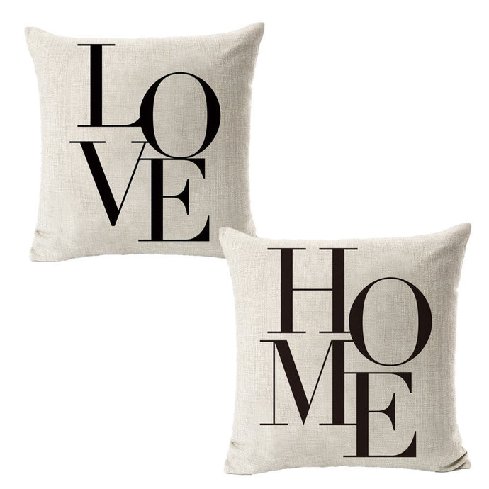 All Smiles Throw Pillow Covers