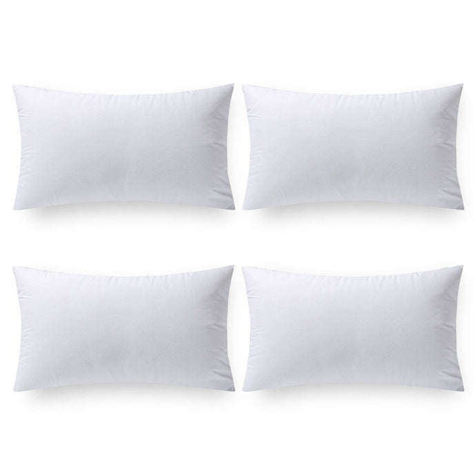 4 Packs Pillow Inserts Hypoallergenic