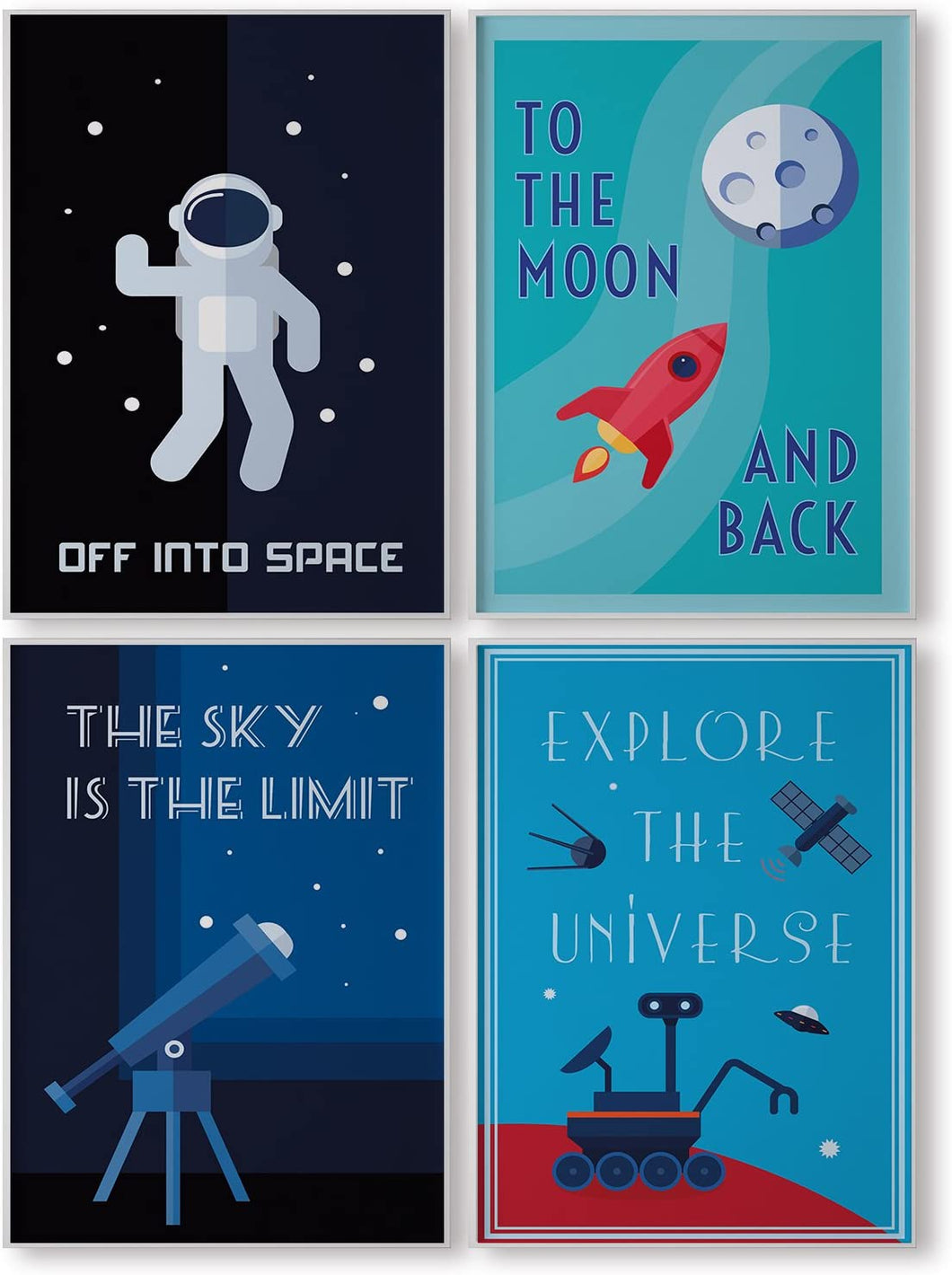 Space Decorations for Kids Room