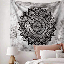 Load image into Gallery viewer, Bohemian Psychedelic Mandala Tapestry