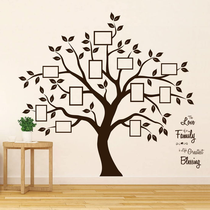 Timber Artbox Family Tree Wall Decal