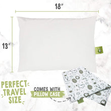 Load image into Gallery viewer, Soft Organic Cotton Baby Pillow