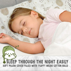 Soft Organic Cotton Baby Pillow