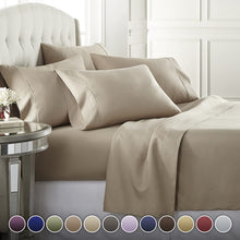 Load image into Gallery viewer, 6 Piece Luxury Premium Sheets Set