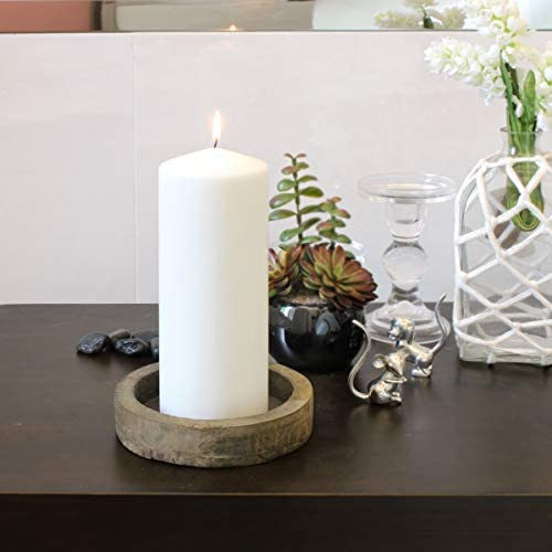Stonebriar Unscented Pillar Candles