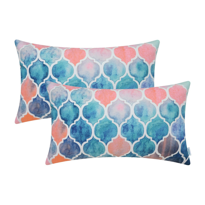 Pack of 2 Cozy Throw Pillow Cases