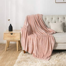 Load image into Gallery viewer, Lightweight Super Soft Luxury Blanket