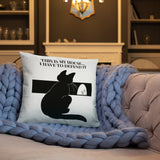 HOME ALONE (QUOTE) Basic Pillow