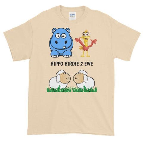 Please note shipping times. HIPPO BIRDIE 2 EWE (HAPPY BIRTHDAY TO YOU) Short-Sleeve T-Shirt