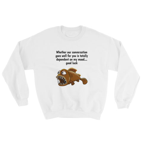 WHETHER OUR CONVERSATION (FISH).Sweatshirt