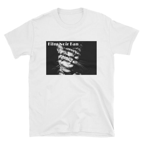 FILM NOIR CAT. Short-Sleeve Unisex. NOIR1T-Shirt