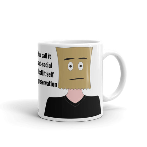 ANTI-SOCIAL MUG (DESIGN4) ANTIS461