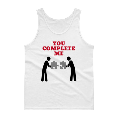 YOU COMPLETE ME/ JERRY MAGUIRE) Tank top
