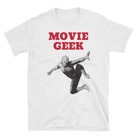 MOVIE GEEK. SPIDER-MAN SUPERHERO. Short-Sleeve Unisex T-Shirt