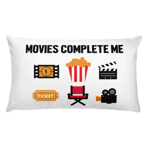 MOVIES COMPLETE ME. Basic Pillow. MM51