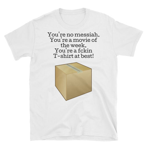 SEVEN. DAVID MILLS QUOTE. Short-Sleeve Unisex T-Shirt