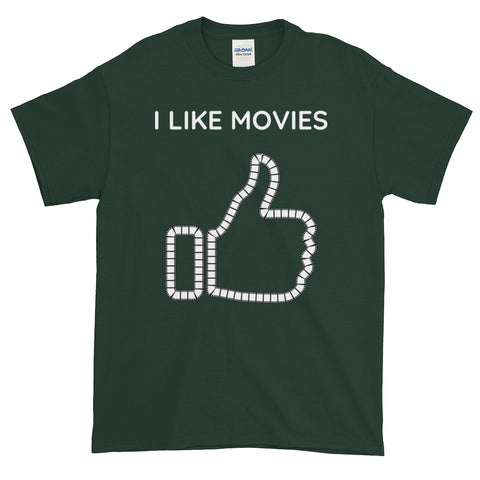 I LIKE MOVIES. Short-Sleeve T-Shirt