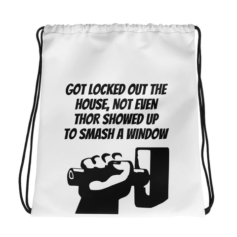TEENS/SUPERHERO/THOR/MARVEL/COMICS.Drawstring bag