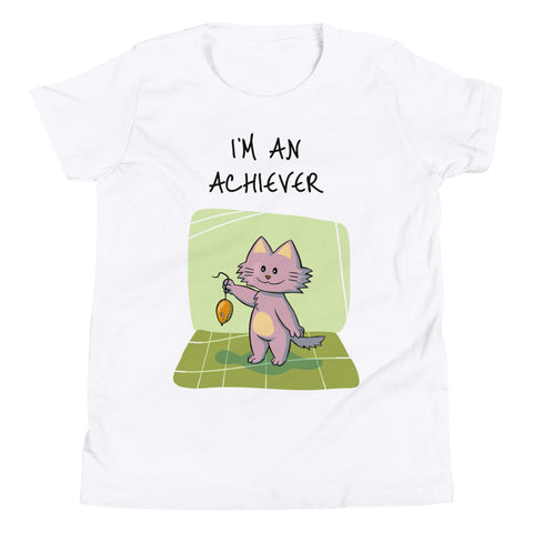 I'M AN ACHIEVER. YOUTH/KIDS. Short Sleeve T-Shirt
