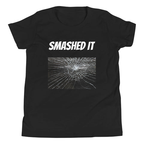 SMASHED IT. YOUTH/KIDS. Short Sleeve T-Shirt