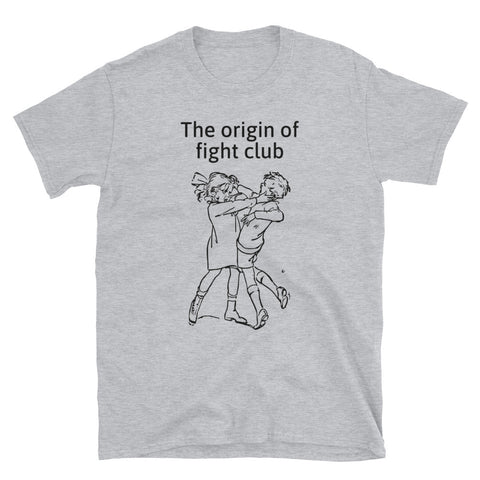 THE ORIGIN OF FIGHT CLUB. Short-Sleeve Unisex T-Shirt