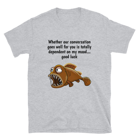 MY MOOD. Short-Sleeve Unisex T-Shirt