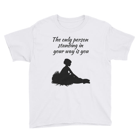 YOUTH KIDS. Short Sleeve T-Shirt. BALLET.