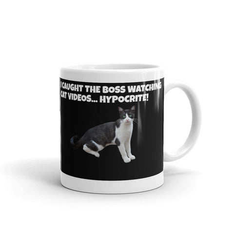 I CAUGHT THE BOSS... MUG MU43967