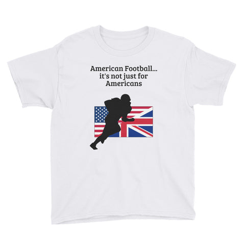 AMERICAN FOOTBALL (UK SPORT). YOUTH Short Sleeve T-Shirt