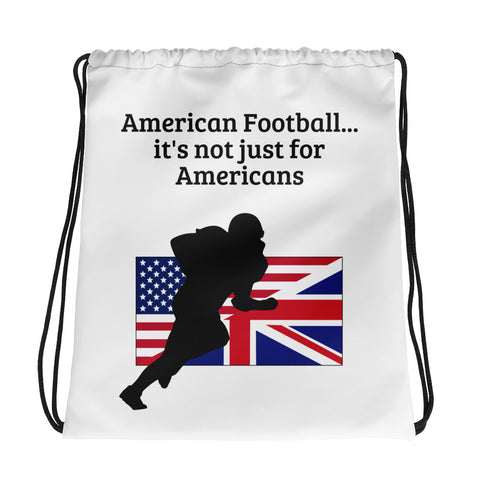 AMERICAN FOOTBALL (UK SPORT) Drawstring bag
