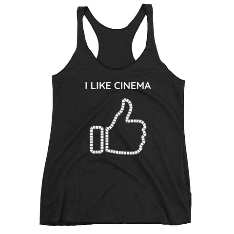 I LIKE CINEMA. Women's Racerback Tank