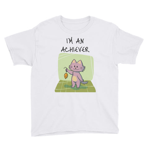 I'M AN ACHIEVER. Youth Short Sleeve T-Shirt
