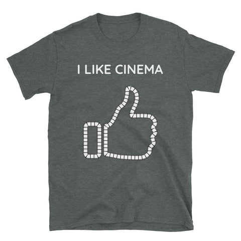 I LIKE CINEMA. Short-Sleeve Unisex T-Shirt