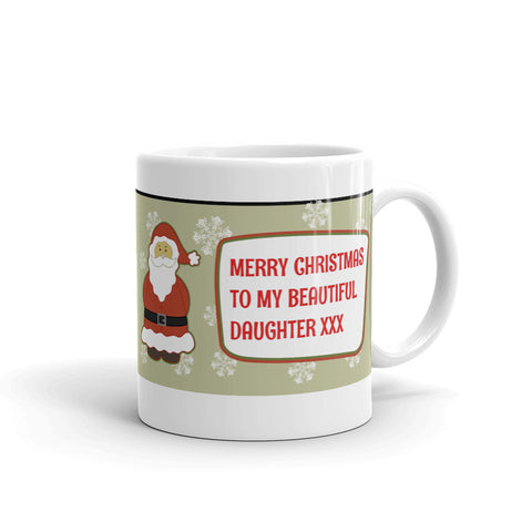 MERRY CHRISTMAS DAUGHTER. DAU33