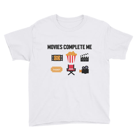 MOVIES COMPLETE ME YOUTH/KIDS T-SHIRT. MM57