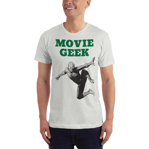 MOVIE GEEK. T-Shirt. SUPERHERO.