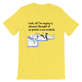 EN POINTE. SWAN LAKE (TR803). Short-Sleeve Unisex T-Shirt