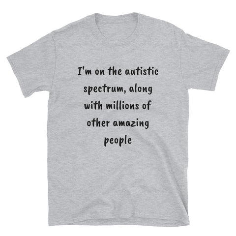 AUTISTIC SPECTRUM. Short-Sleeve Unisex T-Shirt