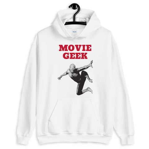 MOVIE GEEK. Unisex Hoodie. SUPERHERO.