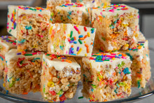 Funfetti Crispies Rice Cookies Rainbow Sprinkles